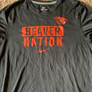 Oregon State University Dri-fit shirt